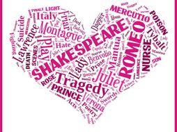 GCSE English Literature 9-1 Shakespeare Romeo & Juliet Characters - Romeo and Juliet