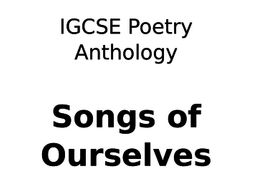 Cetacean - CIE Poetry Anthology English Literature Podcast
