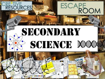 Secondary Science Escape Room
