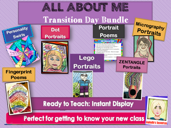 NEW CLASS AND TRANSITION DAY BUNDLE