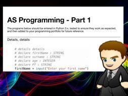 AS Programming Book 1 (Python 3.x)