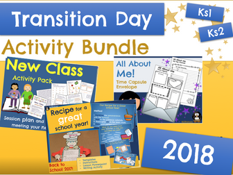 Transition Day : PRIMARY Activities