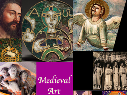 Medieval Art Presentation ~ Art History ~ 200 Slides ~ Highly Visual