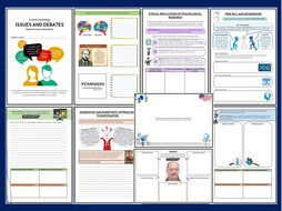 Issues and debates introduction workbook for AQA A level psychology