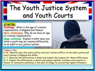 Youth Courts + Justice Edexcel Citizenship GCSE