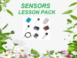 Sensors - Complete Lesson Pack with Study Materials