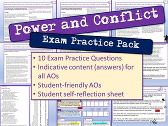 Power and Conflict Exam Practice Questions