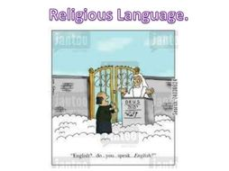 14 Lesson Series-  Philosophy of Religious Language - AQA A Level Year 2