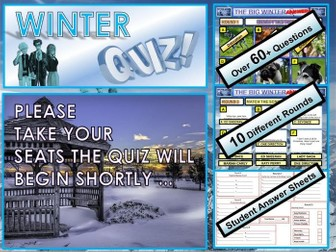 Christmas Quiz 2019 Winter - End of Term