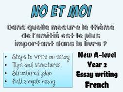 moi essay Free french papers, essays, and research papers title length color rating : french speech - l'année dernière j'ai passé une journée en france avec ma famille.