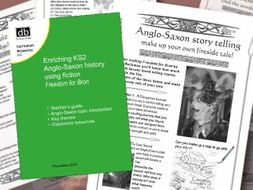 Freedom-For-Bron.  KS2 Anglo Saxons