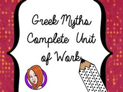 Myths and Legends - Complete Unit of Work