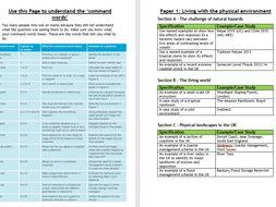 GCSE 9-1 Geography Exam Practice Booklet