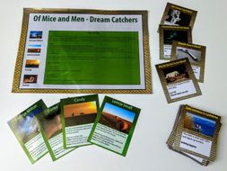 Of Mice and Men revision card game