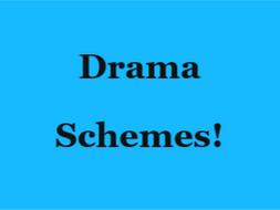 Year 8 Drama Schemes of Work - Whole Year!