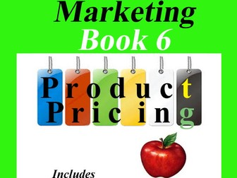 Marketing Book 6 > Product Pricing = Includes Lesson, Activity & Assessment!