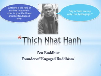 Thich Naht Hanh and Engaged Buddhism