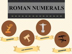 Roman Numeral History Activity