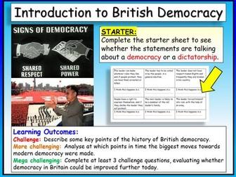 Democracy - Citizenship