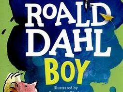 Roald Dahl Boy q1-5 language aqa