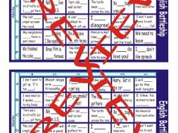 Adverbs  Battleship Board Game