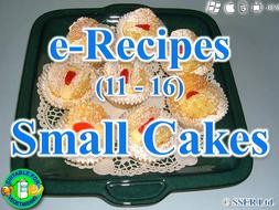 22. Small Cakes (e-Recipe)