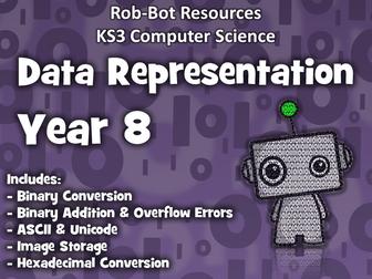 KS3 Computer Science:  Data Representation - Year 8