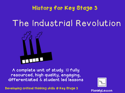 The Industrial Revolution  - Complete Unit of Work