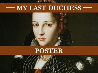 "my last duchess practice commentary The two poems to be discussed in this essay are typical examples of a dramatic monologue the setting of ""my last duchess"", a poem by robert browning, is the palace of duke of ferrara during the 16 th century."