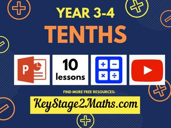 Year 3-4 – Tenths   Decimals