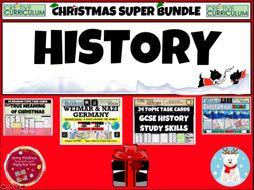 History Christmas Resources - GCSE
