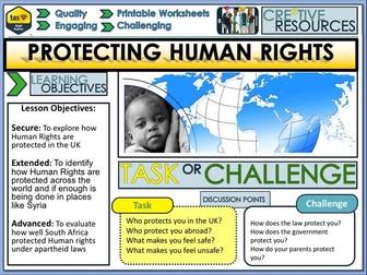 Human Rights + Protection