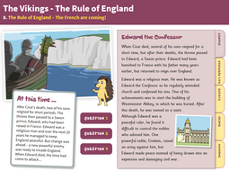 The French - Interactive Teaching Book - The Vikings KS2