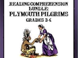 READING COMPREHENSION PLYMOUTH PILGRIMS AND THANKSGIVING