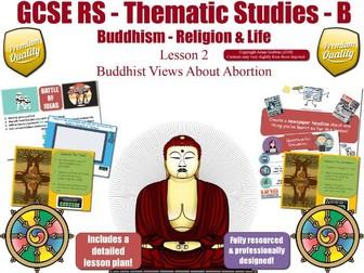 Abortion - Buddhist  Views, Beliefs & Teachings (GCSE RS - Buddhism - Religion & Life)  L2/7