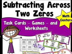 Subtracting Across Two Zeros