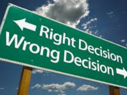 Right and Wrong Scenarios and Discussion