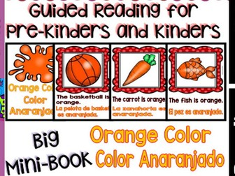 Guided Reading - Orange Color / Color Anaranjado - Dual