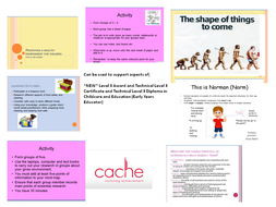 Childcare; bumper pack- a range of presentations,activities (CACHE, AQA, WJEC)