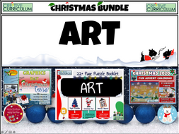 Art Christmas Activities