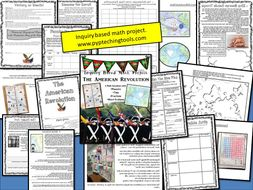 An Inquiry Based Math Project The American Revolution