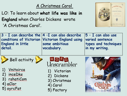 A Christmas Carol KS3 Full Scheme of Work