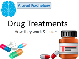 Drug Treatments / Therapies Lesson
