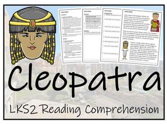 LKS2 History - Cleopatra Reading Comprehension Activity
