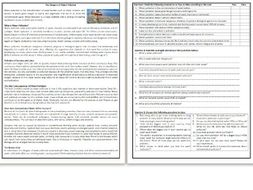 The Dangers of Water Pollution - Reading Comprehension - Informational Text