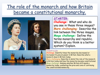 Monarchy + Government