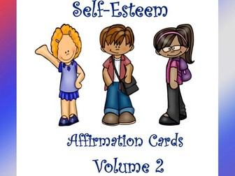 Self-Esteem Affirmation Cards Volume 2