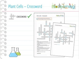 Plant Cells - Crossword (KS5)