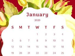 Calendar_January 2020
