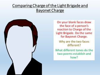 Comparing Bayonet Charge and Charge of the Light Brigade